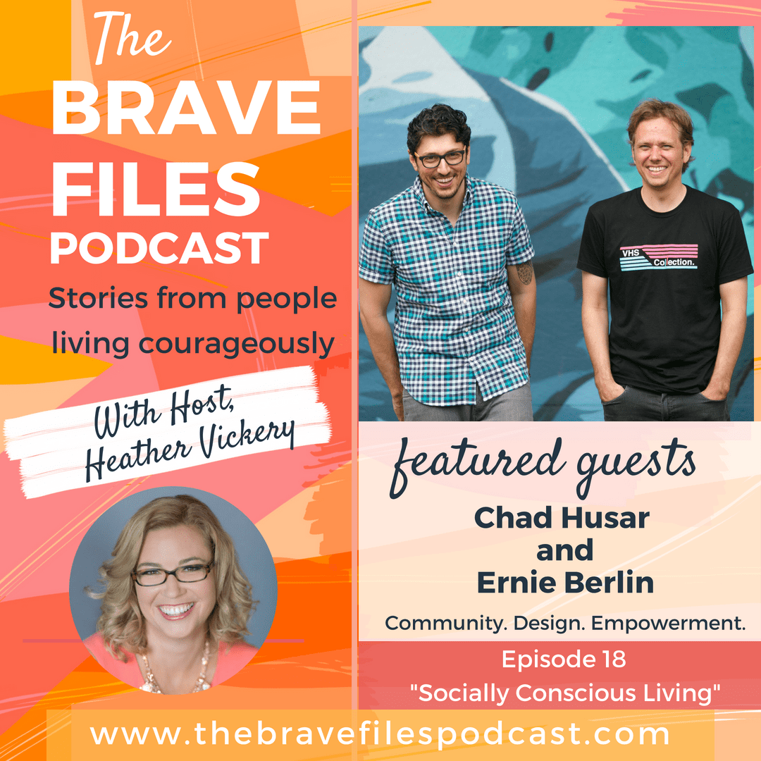 Founders of Lost Format, Chad and Ernie, are guests on The Brave Files Podcast to talk about the importance of being socially conscious