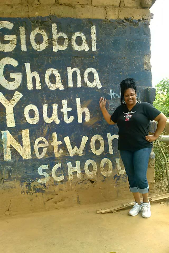 International Kendra travels to Ghana to help change the lives of women