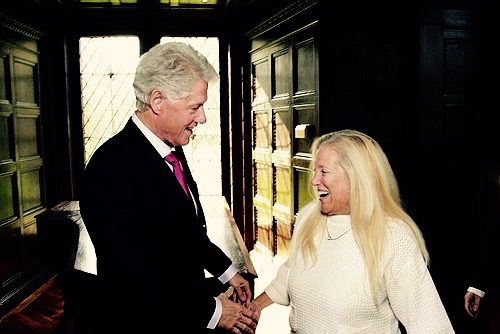 The Meanest Woman Alive, Linda Smith, Shakes hands with President Bill Clinton. The Brave Files Podcast.