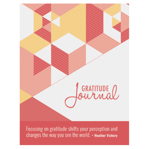 Vickery and Co's gratitude journal. Explore how gratitude can be life changing.