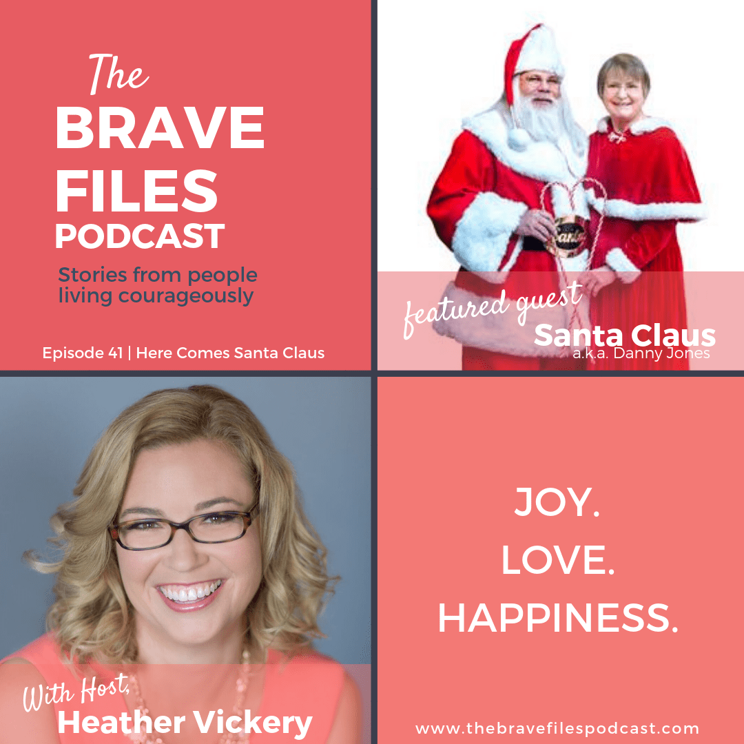 The Brave Files Podcast celebrates the holidays and interviews Santa Claus a.k.a Danny Jones