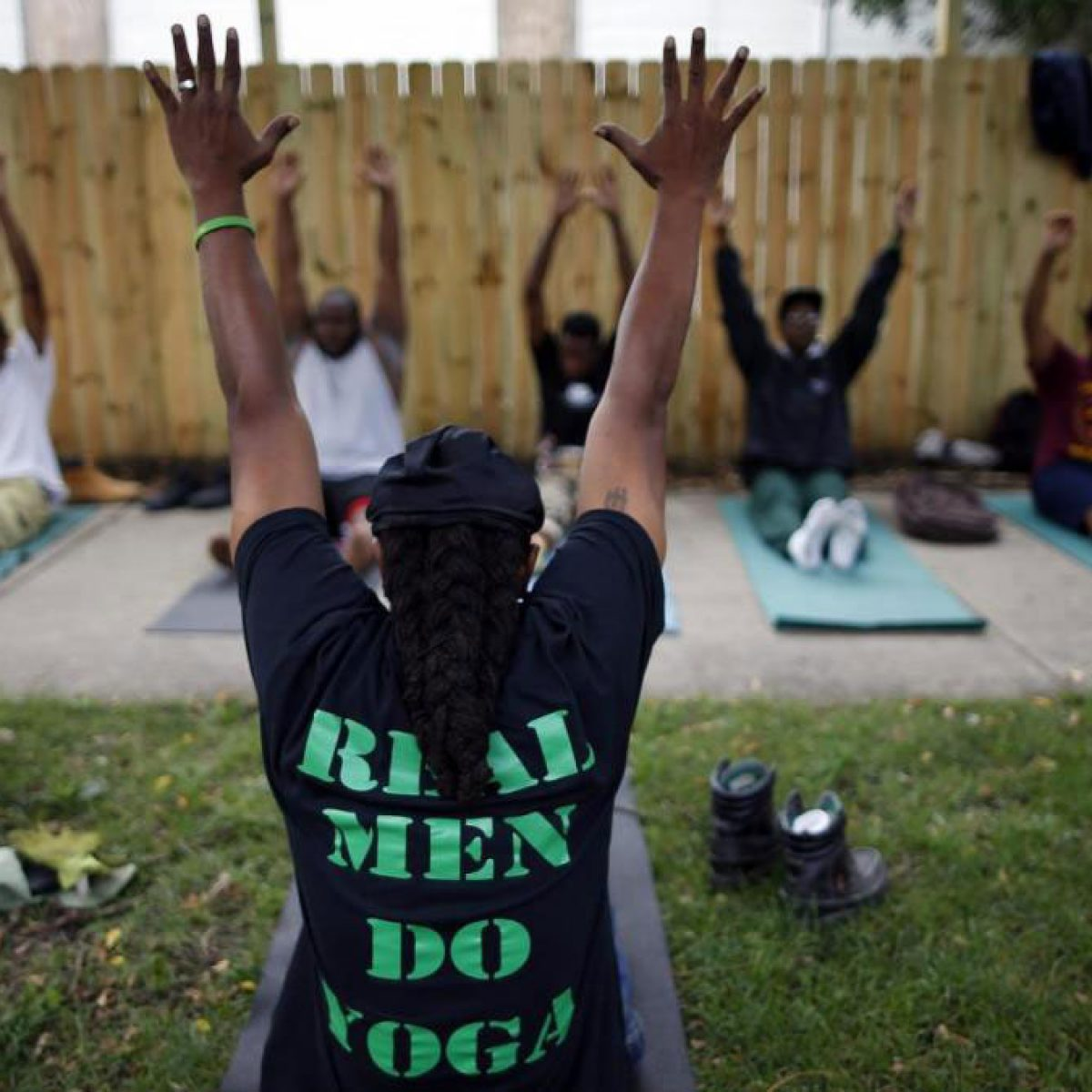 Yoga is an everyday activity for many of the community members in this Englewood community. They are taking back their neighborhood and ushering in peace. The bRave Files Podcast.