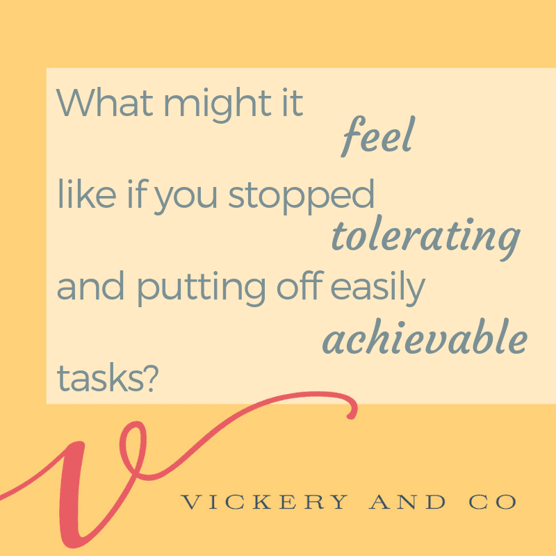 Success and Leadership coach, Heather Vickery shares the importance of removing tolerations from our life! Success is only possible when we remove roadblocks like tolerations.