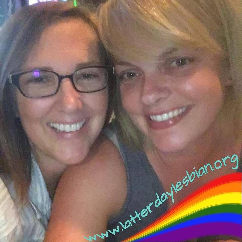 Shelly Johnson and her partner, Mary, produce the Latter-Day Lesbian Podcast.