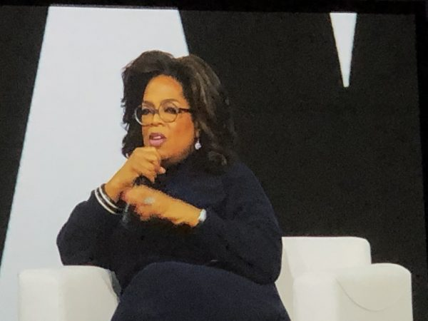 Heather Vickery, Oprah, Powerful intention. Brave grateful