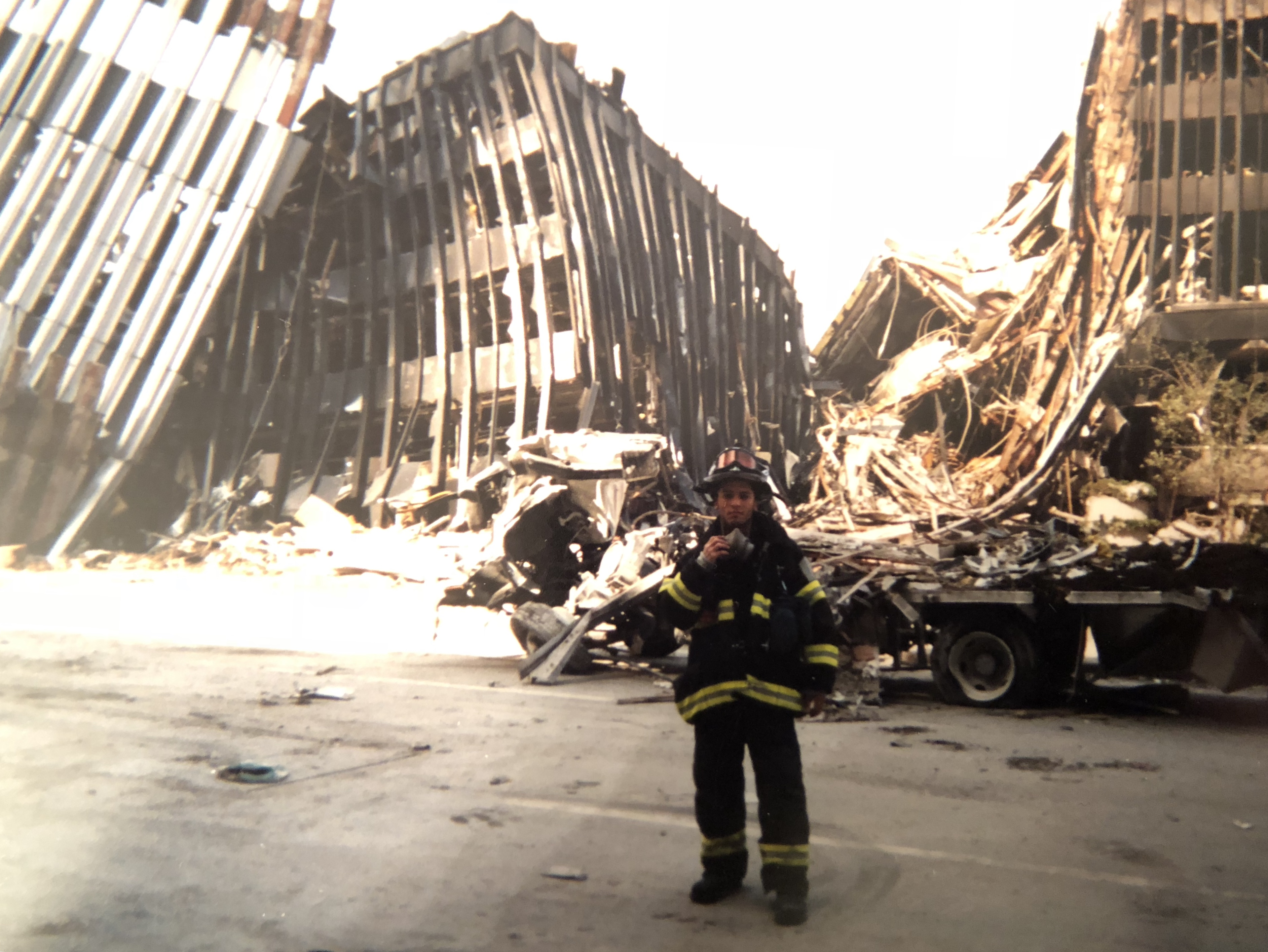 Mike Cortes tells his story as a first responder during the terrorist attacks of 9/11. The Brave Files.